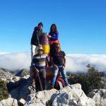 Sobrevolando la Sierra de Grazalema.