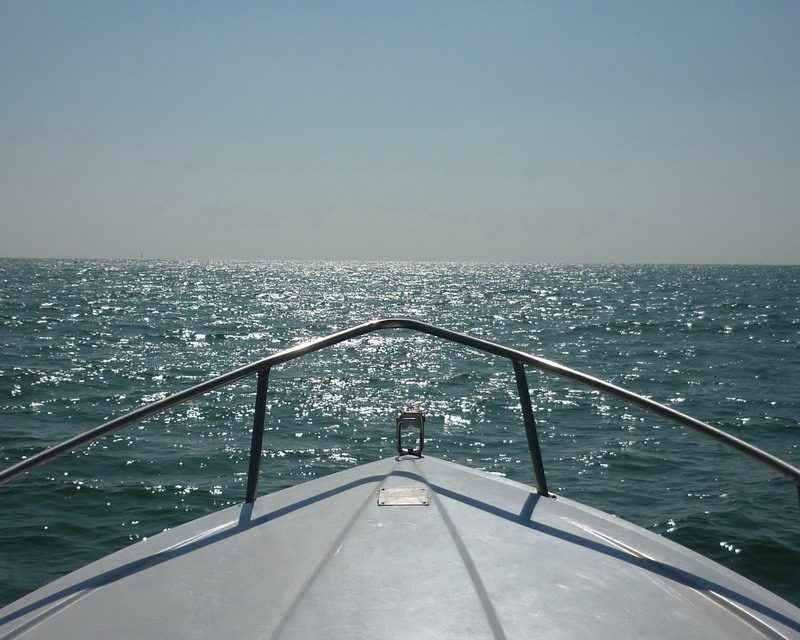 Una jornada náutica. Cádiz desde el mar