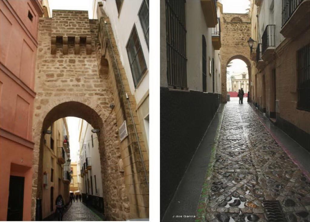 Arco de la Rosa y Pasaje del Arco-Euskádiz