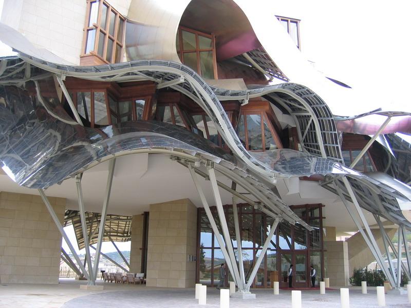 Hotel Centro de Visitantes Bodega Marqués de Riscal