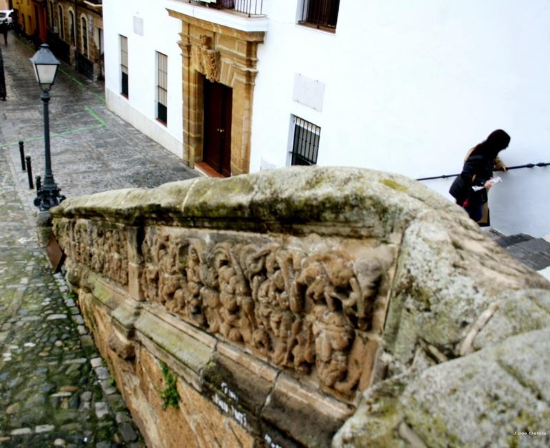 Escalinata de Santa Cruz-Euskádiz