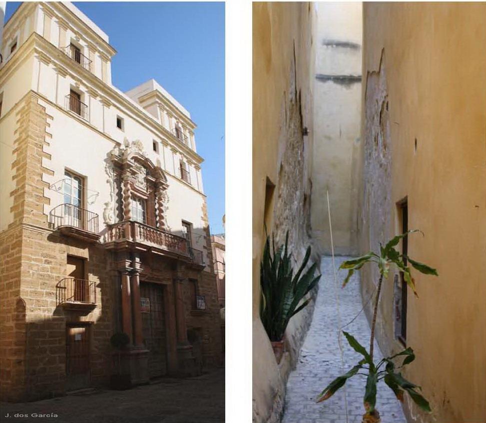 Casa del Almirante y Callejón del Duende-Euskádiz