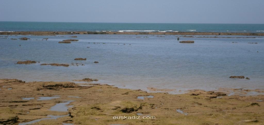 Corral de pesca en Chipiona