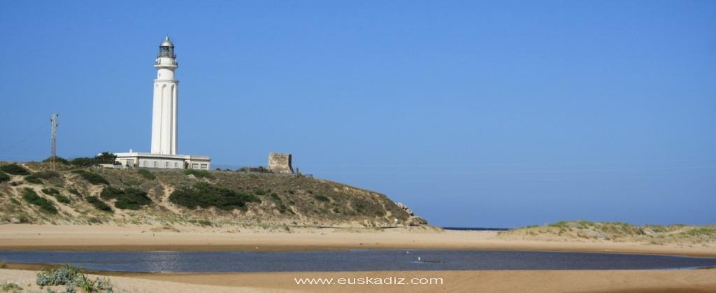 Vista del Faro de Trafalgar