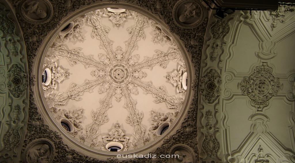 Bóveda del Convento de Santo Domingo de Cádiz