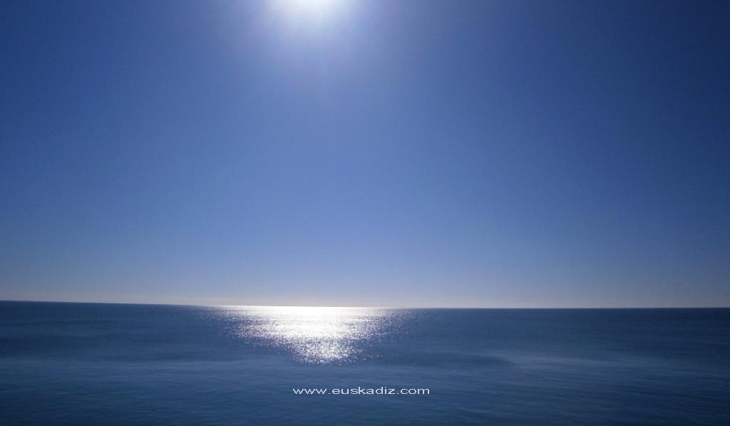 El océano atlántico desde el Campo del Sur
