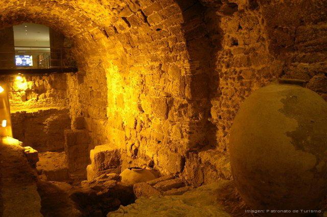 Yacimiento arqueológico Casa del Obispo-Euskádiz