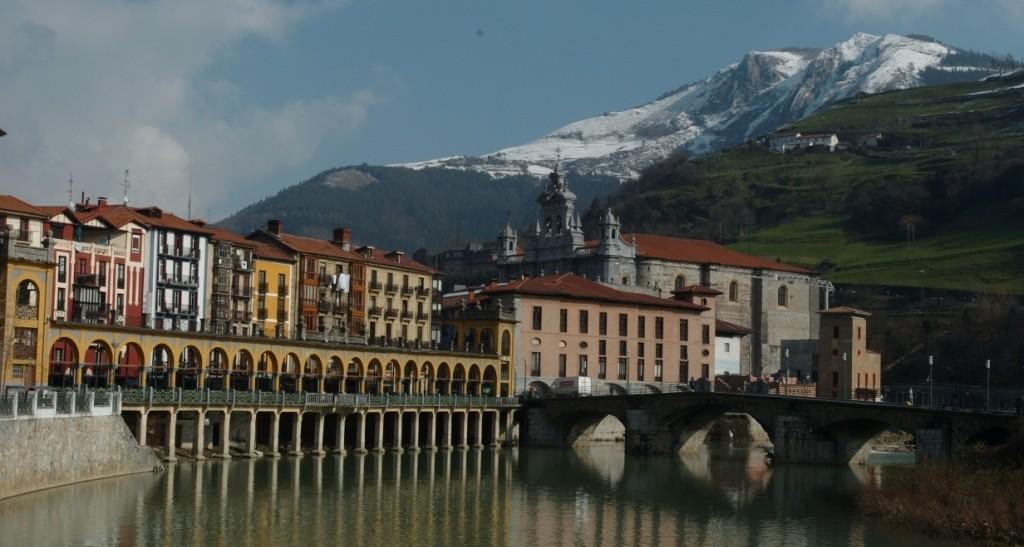 Vista de la localidad gipuzkoana de Tolosa