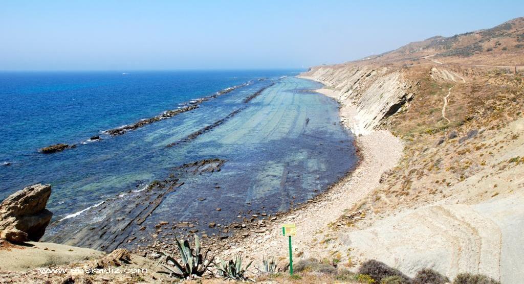 Flysch y Rasa mareal en Tarifa.