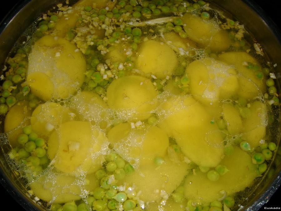 guisantes-papas-manzanilla-aceite-euskadiz