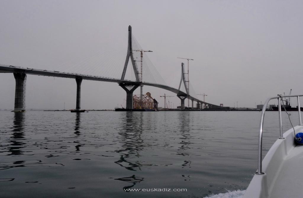 El nuevo puente de Cádiz.