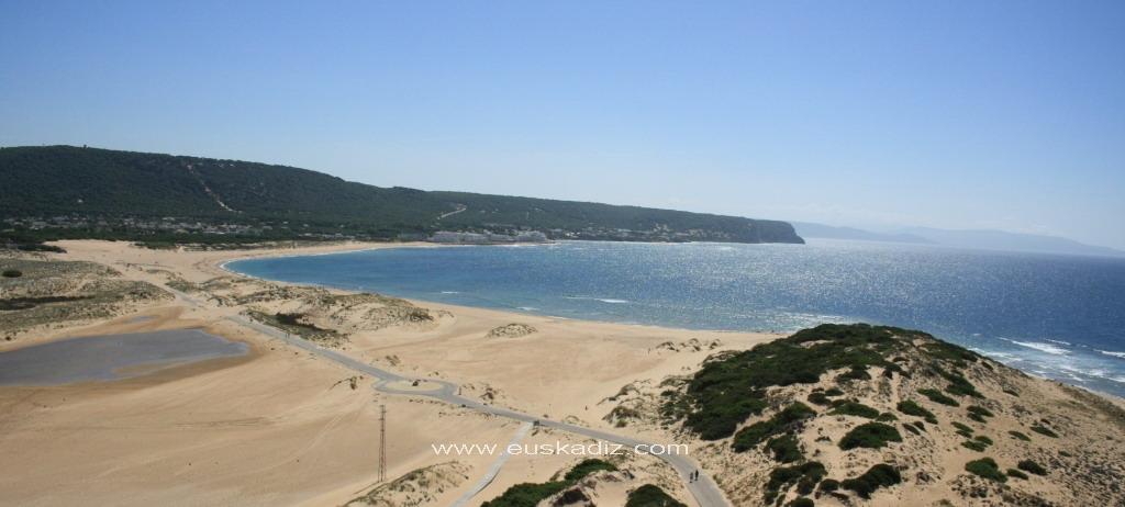 Vista de Caños de Meca desde el Faro
