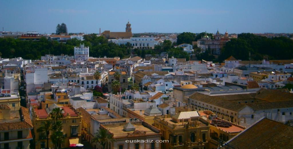 Vista de la localidad gaditana de Sanlúcar de Barrameda
