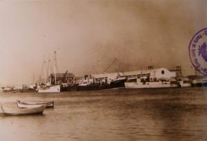 Muelle comercial de El Puerto de Santa María
