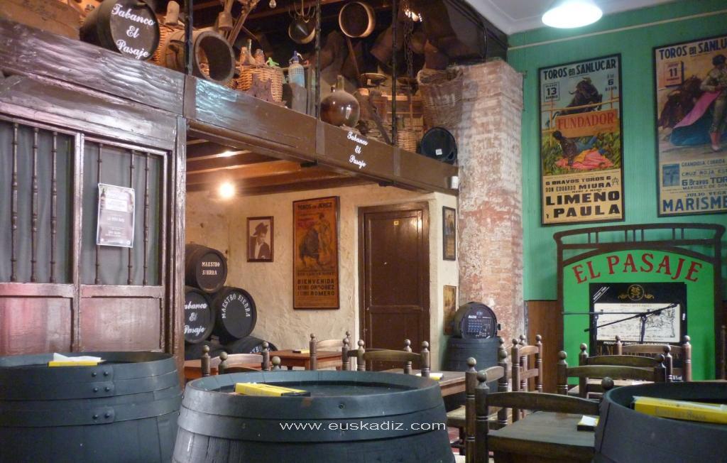 Tabanco El Pasaje de Jerez