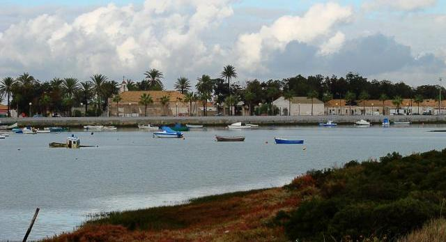 Vista del antiguo poblado almadrabero de Sancti Petri
