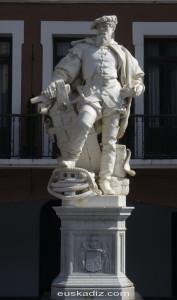 Monumento a Elcano en Getaria