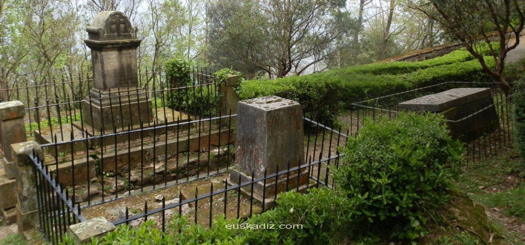 El cementerio de los ingleses en el monte Urgull