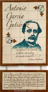 Mosaico de Antonio García Gutiérrez