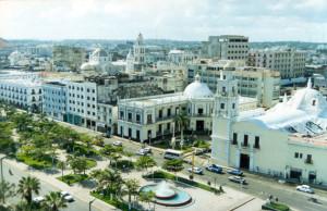 Vista de la ciudad mexicana de Veracruz