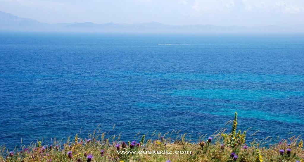 El Estrecho y el continente africano.