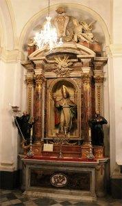 Retablo de San Fermín en la Iglesia del Rosario de Cádiz