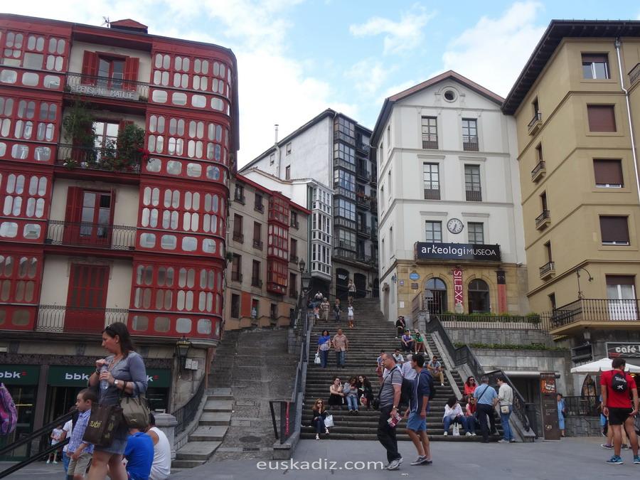 Calzadas de Mallona-Bilbao-euskadiz