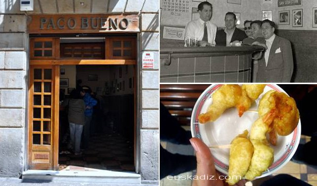 Bar Paco Bueno en la calle Mayor
