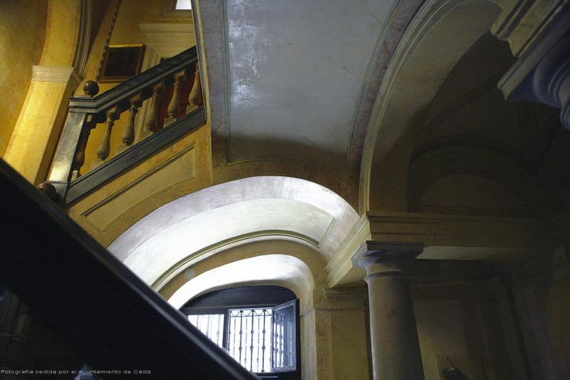 Escalera interior del Oratorio de la Santa Cueva