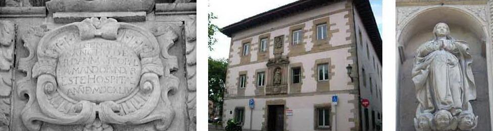 Hospital de Irún fundado por Sancho de Urdanibia
