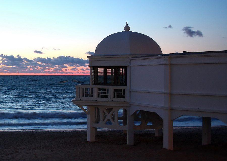 Playa de La Caleta, la perla gaditana.