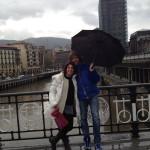 Bilbao. Nuestros amigos de Vejer.