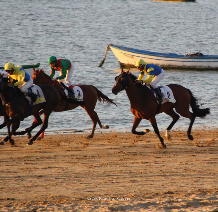 Una tarde en las carreras de caballos de Sanlúcar: la poesía del Turf.
